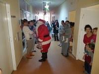 Activitate filantropică desfășurată de Parohia Gepiu la Spitalul Clinic de Copii din Oradea