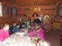 Activităţi catehetice la  Centrul Educaţional-Inovativ din Parohia Husasău de Criş
