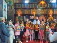 Activități dedicate Anului omagial al sfintelor icoane în Parohia Săbolciu
