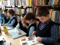Activităţi educative la biblioteca Liceului Ortodox  din Oradea