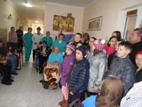 Activităţi filantropice ale tinerilor din Parohia Popeşti
