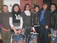 Activităţi filantropice în parohia Sârbi