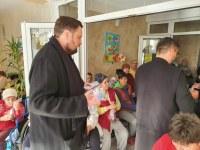 Activități filantropice în prag de sărbători în Protopopiatul Tinca