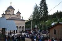 Adormirea Maicii Domnului sărbătorită la Mănăstirea Izbuc