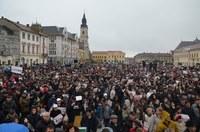 Adunare publică pentru susținerea familiei tradiționale la Oradea