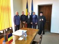 Ambasadorul Republicii Belarus în vizită la Oradea