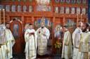 Binecuvântare de lucrări şi Liturghie arhierească în Parohia Chioag