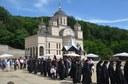 Binecuvântare pentru pelerini la Mănăstirea Izbuc de praznicul Schimbării la Față a Domnului