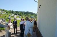 Biserică nouă târnosită de Chiriarhul Oradiei în Parohia Husasău de Criş