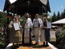 Bucuria reîntâlnirii la Mănăstirea Izbuc