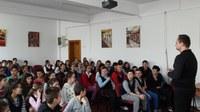 Campanie de prevenire a consumului de substanţe interzise  la Liceul Ortodox din Oradea