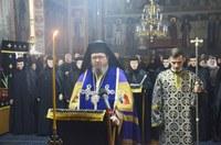 Canonul cel Mare la Mănăstirea Sfânta Cruce din Oradea