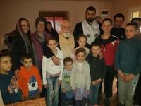Casă nouă pentru o familie cu 9 copii din Parhida