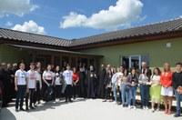 """Cea de a treia casă din proiectul filantropic """"Aripi de înger"""" a fost inaugurată și sfințită"""