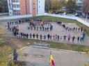"""Centenarul Marii Uniri marcat la  Liceul Ortodox """"Episcop Roman Ciorogariu"""" din Oradea"""