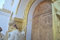 Chiriarhul Oradiei a binecuvântat înnoirile  de la biserica Înălțarea Domnului din Salonta