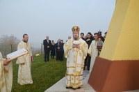 Chiriarhul Oradiei a resfințit biserica parohiei Dicănești