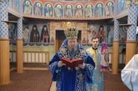 Chiriarhul Oradiei a slujit la Mănăstirea Buna Vestire din Oradea