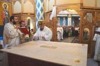 Chiriarhul Oradiei a târnosit biserica parohiei Aleșd II