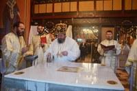 Chiriarhul Oradiei a târnosit biserica parohiei Căpâlna