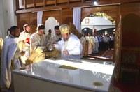 Chiriarhul Oradiei a târnosit noua biserică din Tileagd la început de an bisericesc