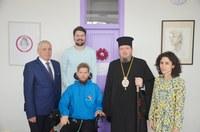 Chiriarhul Oradiei a vizitat Fundația Mihai Neșu din Oradea