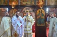 Chiriarhul Oradiei în parohia Săbolciu la praznicul Înălțării Sfintei Cruci