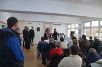 Chiriarhul Oradiei în vizită la Centrul de zi  pentru bolnavii de scleroză multiplă din Oradea