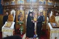 Chiriarhul Oradiei în vizită pastorală la Cuzap