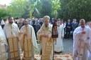 Chiriarhul Oradiei la biserica militară din Oradea de prăznuirea Sfântului Mare Mucenic Gheorghe