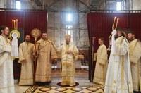 Chiriarhul Oradiei la Catedrala Episcopală din Oradea în Duminica a șasea după Paști