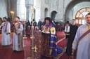 Chiriarhul Oradiei la Catedrala Episcopală din Oradea în prima zi din Postul Mare