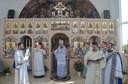 Chiriarhul Oradiei la hramul bisericii din enoria Palota