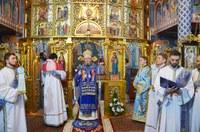 Chiriarhul Oradiei la hramul Mănăstirii Buna Vestire din Oradea