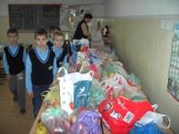 Colecte de legume şi fructe la Liceul Ortodox din Oradea