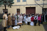 Colindatori la Centrul Eparhial al Episcopiei Oradiei