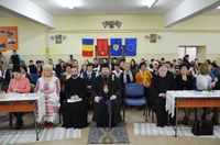 "Concursul ""Primăvara, anotimpul dragostei la români""  la Liceul Ortodox din Oradea"