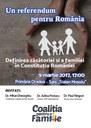 Conferință a conducerii Coaliției pentru familie la Oradea