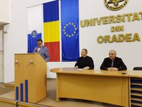 Conferința Clerici bihoreni în închisorile comuniste la Universitatea din Oradea
