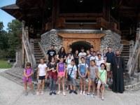 Copii din parohia bihoreană Bratca - pelerini în Maramureș