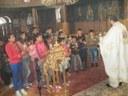 Copiii din parohia Subpiatră, vestitori ai Învierii Domnului