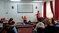 Curs de prim ajutor la Liceul Ortodox Episcop Roman Ciorogariu din Oradea