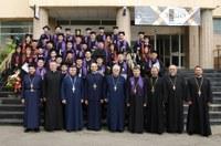 """Curs festiv la Facultatea de Teologie Ortodoxă """"Episcop Dr. Vasile Coman""""  din Oradea"""