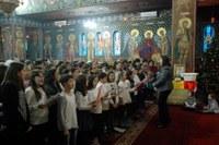 Darul Crăciunului la biserica albastră din Oradea