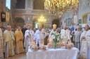 Doi ierarhi au liturghisit in Catedrala din Giula