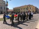 Drapelul Naţional al României sfințit la Oradea