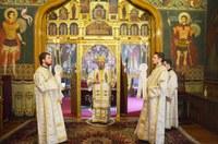 Duminica a patra după Paşti la paraclisul Reședinței Episcopale din Oradea