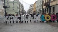 Elevi și profesori ai Liceului Ortodox în Polonia