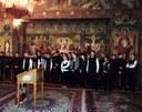 Elevii Liceului Ortodox în vizita la Centrul Eparhial