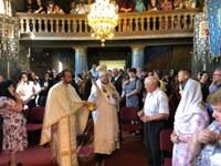 Episcopul Oradiei a binecuvântat lucrările de la biserica parohială din Cărăsău